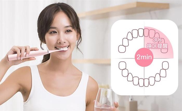 电动牙刷正确使用方法